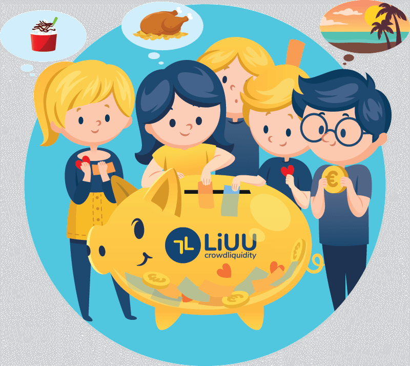 Raise money with LiUU, supporting small businesses