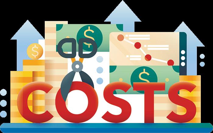 low costs of crowdliquidity
